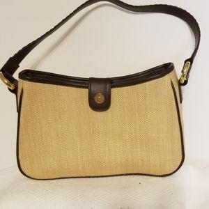 Saddle River woven purse